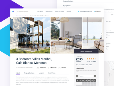 Hotel Booking Page hotels villa travelling book landing page vacation travel hotel booking page website search minimal app web design clean interface ux ui