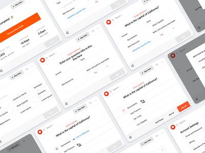 Chrome Plugin Concept user interface steps flow select modal cards plugins browser plugin page website dashboard minimal app web design clean interface ui ux