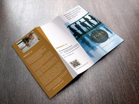 Trifold for The Small Business board