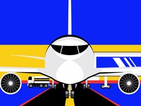 Front view of Airplane!