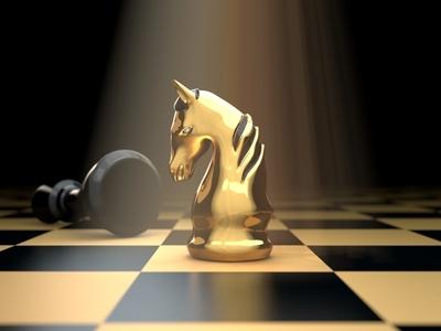 3d Animated Chess Board  Knight Logo branding brand identity design brand identity corporate logo business logo horse logo designer trending 3d logo design 3d design graphic design innovation 3d style logo knight chessboard creative 3d animation