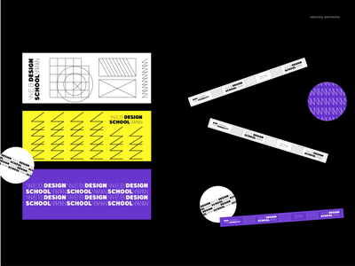 Web design school - identity concept draw minimal logo typography identity branding brand graphics design illustration