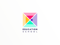 Logo for educational school
