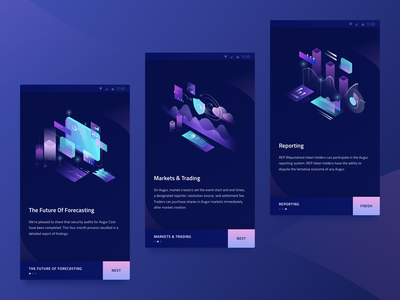 Set of illustration for cryptocurrency web site page mining interface illustration gradient design currency crypto bitcoin