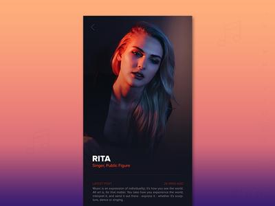 User Profile Design - Day 006