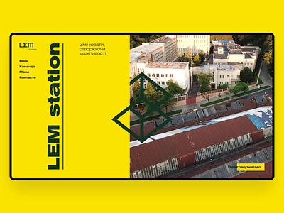 LEM Web map team web design conctact lemon web logo graphic design happy design