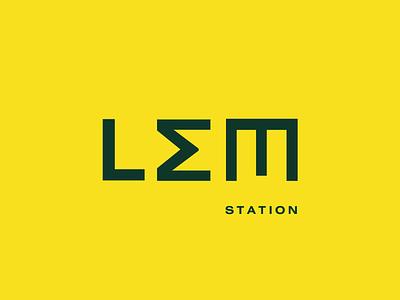LEM Branding lviv tram rebranding logo graphic design design happy