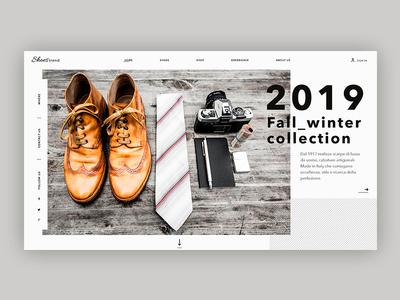 Ui design Italian Shoes concept ui sketch uiux italian shoes ui graphic design uidesign shoes