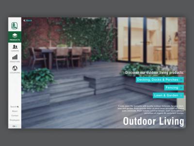 Making Lumber Sexy web design design user interface ux ui
