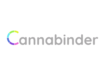 Cannabinder - Full Logo cannabis design logo design logo