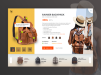 Leather Bag - Product Ui View