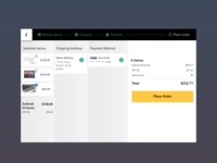 Checkout Process Shot (Final Step)- Daily UI #002