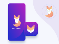 🦊 Foxy Finance App Icon - Daily UI #005