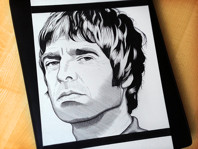 Noel Gallagher Drawing