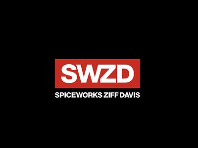 SWZD Logo brand mark merge mark branding brand logo logo design