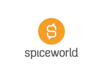 SpiceWorld Speech Bubble Logo