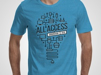 All Access T-shirt Mock