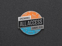 All Access Enamel Pin
