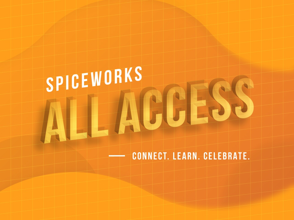 All Access 2019 branding 3d brand all access it conference event