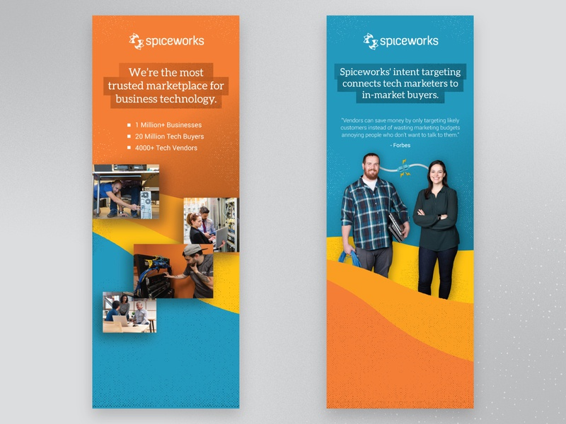 Roller Banners gradients photography branding event popup banners roller print design print banners