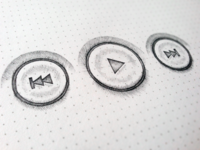 UI Buttons Sketch