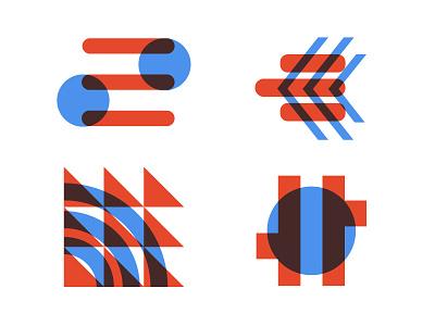 America Innovates pattern icons logo america overlay