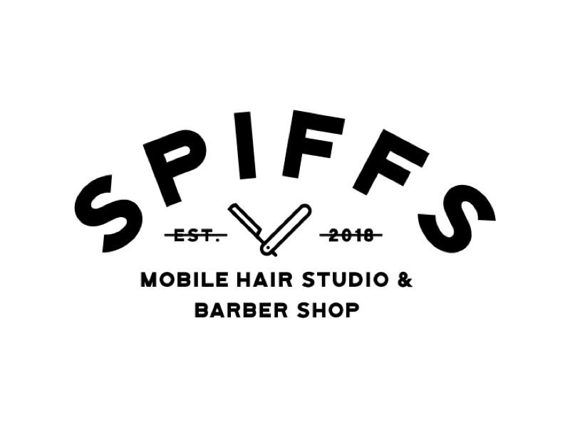 Hair Studio Logo barber hair graphic design design logo