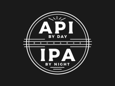 API by day, IPA by night shirt