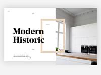 Architecture & Design Magazine 3D UI/UX Animation