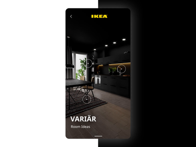 IKEA Concept for 3D Interior Visualization App
