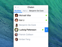 Chaton (Gtalk client for Mac)