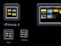 PicsEngine iOS icons