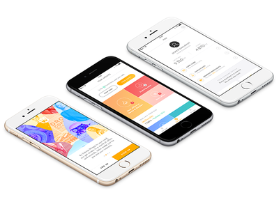 Wrapp - Work in progress colors onboarding signup dashboard wrapp app