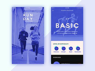 Runday training running sport runday app ios