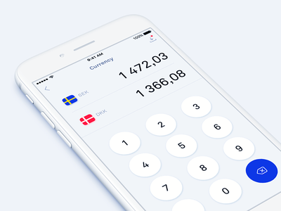 Currency converter light blue ios11 app currency converter