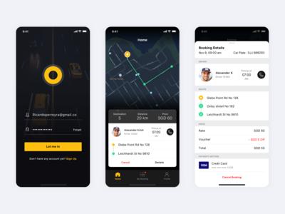 Valet Taxi App