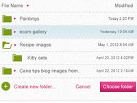 Super Clean Folder Icons