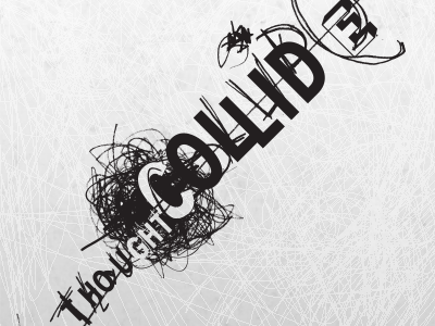 Thought Collide logo identity branding movies screenplay collective