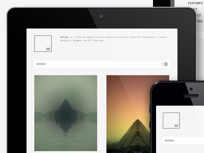 Reframe Responsive Wordpress Theme reframe northeme wordpress responsive