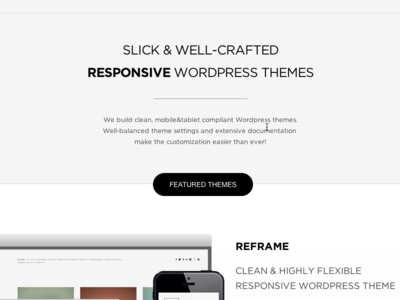 Northeme.com wordpress responsive themes reframe workality