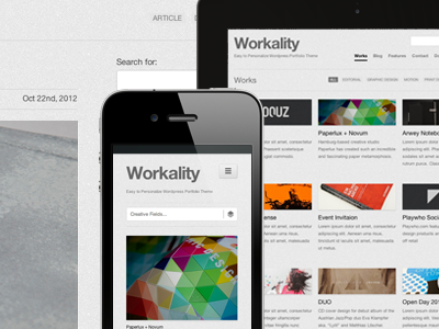 Workality - Free Wordpress Theme free wp wordpress theme responsive portfolio creative
