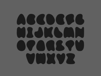 Analog, Jug (custom typeface) font design font climbing bold custom type experiment typeface type
