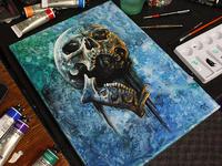 Water Skull