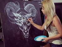 Wyvern Painting WIP