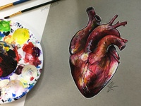 Heart Doodle-Painting