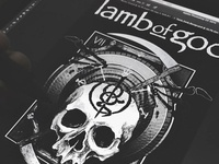 Lamb Of God Skullsickle Shirt