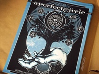 A Perfect Circle Tour Poster