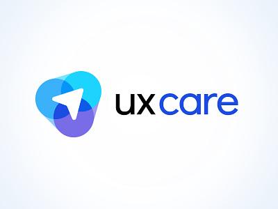 UX Care Logo design corporate identity branding and identity branding design branding logo design logotype logo