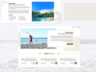 Resort Website design graphic design website design web design website