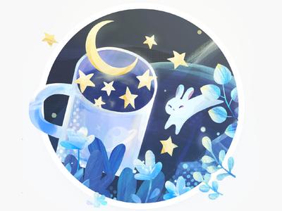 Moon & Rabbit
